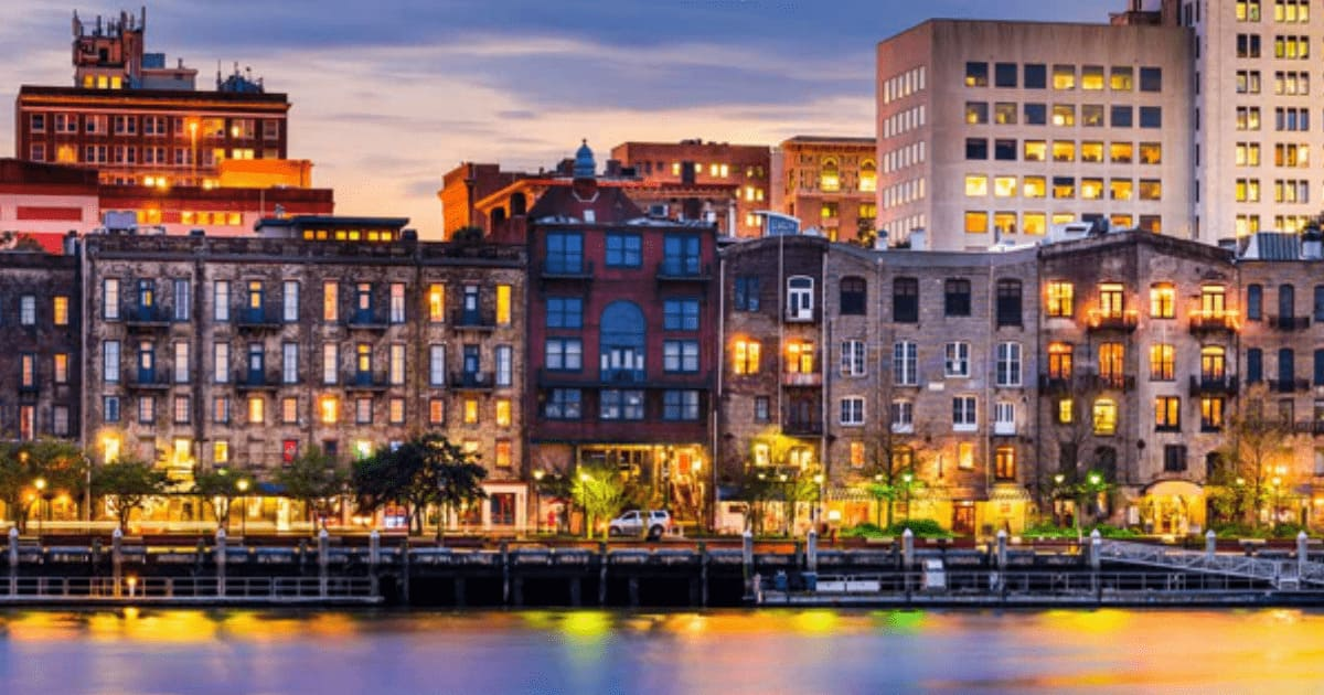 2018 Georgia HFMA Fall Institute, Savannah skyline