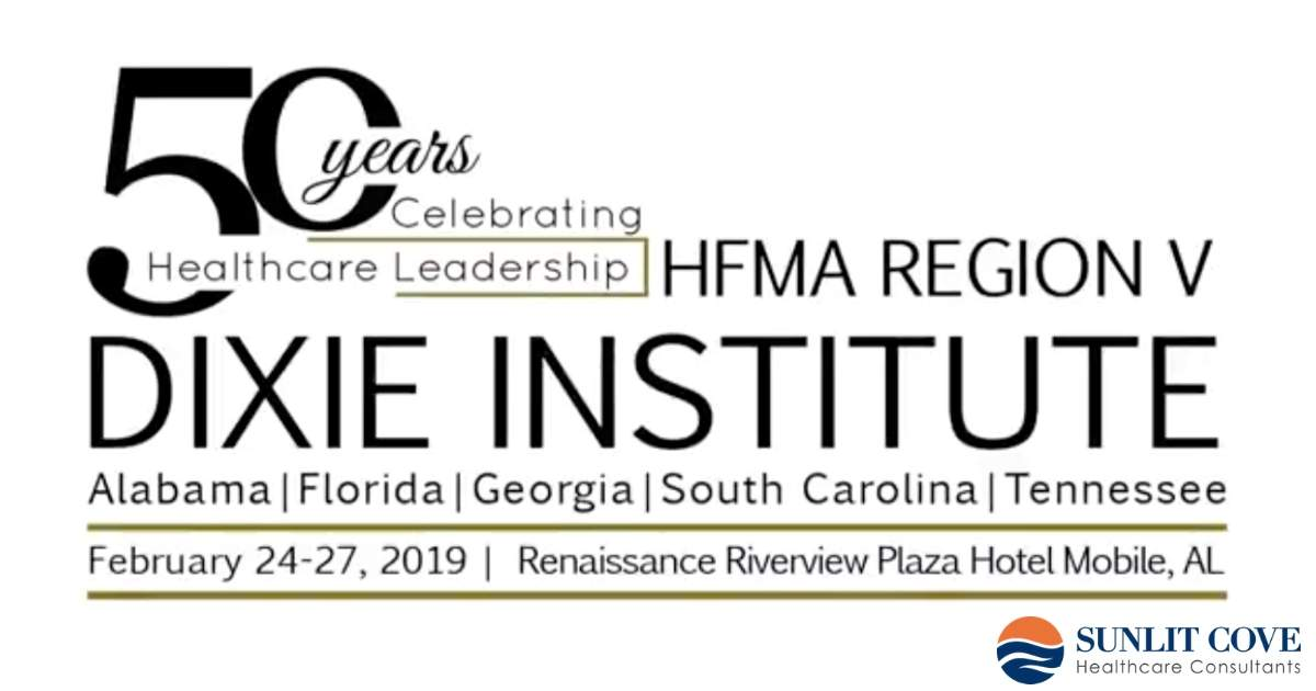 2019 HFMA Dixie Event, Event logo and information