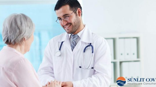 Patient Communication and Responsibility, doctor holding patient's hands