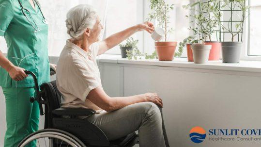 Stark Law, Elderly Woman in Wheelchair