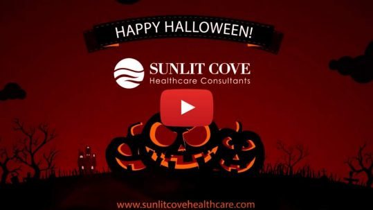 Happy Halloween, Animated video of pumpkins at Halloween