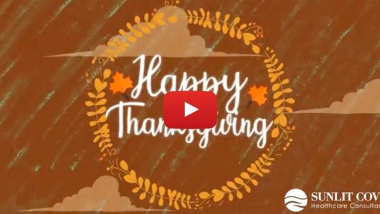Happy Thanksgiving, animated video
