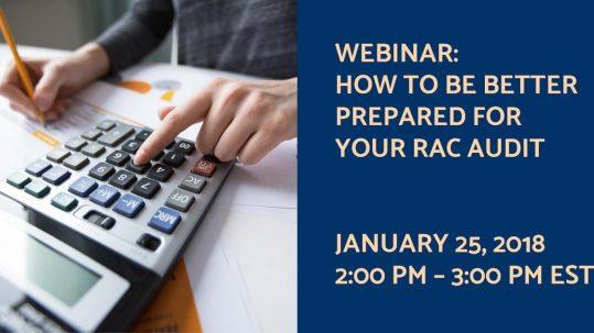 rac audit preparation